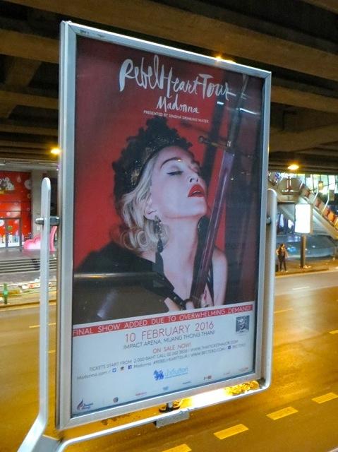 タイ・バンコクでマドンナのコンサート